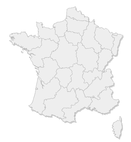 Carte des gestion-bulletin-de-salaire de France